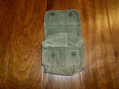 U.s Military Wwii Issue Jungle First Aid Kit Pouch And Bandage 1944