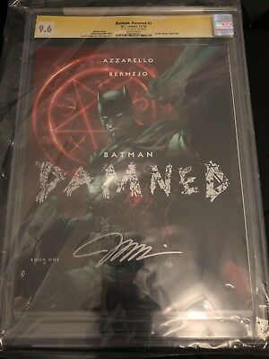 BATMAN DAMNED #1 Jim Lee Variant CGC SS 9.6 Signed by Jim Lee