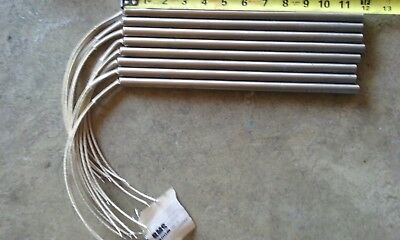 8pcs CARTRIDGE HEATER BMS Burns 240V VOLT 600W WATT 1/2 x 12 inch