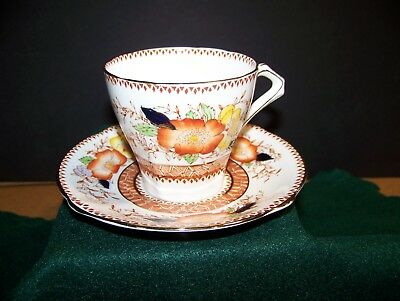 Bell Fine Bone China   Teacup & Saucer Vintage  flowers ~ England