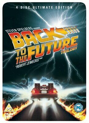 Back to the Future Trilogy (Steelbook) [DVD] - DVD  OSVG The Cheap Fast Free