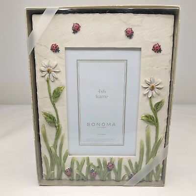 Sonoma Life Style 4 X 6 Picture Frame Stained Glass 2000