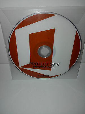 Dvd - Office Project 2016 Professional - 32/64 Bit Full - Italiano (Microsoft)