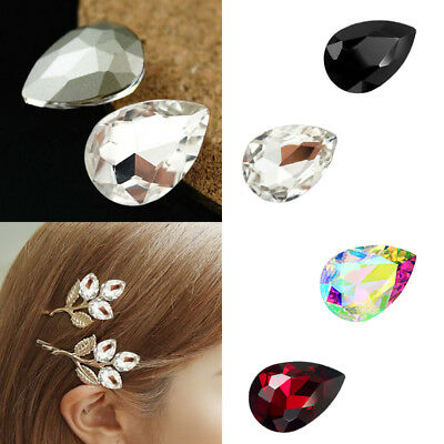 10 x Wholesale New Crystal Glass rhinestones teardrop Faceted beads 10x16mm