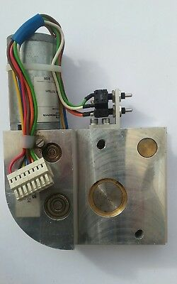 Electric Powered Hinge Motor with Gearbox from Track of Brooks Acorn Stairlift