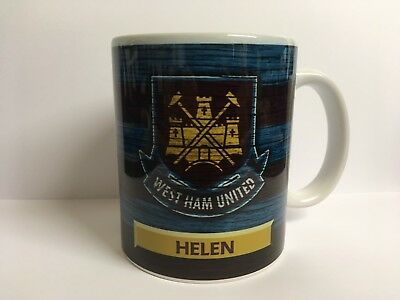 Personalised West Ham Mug