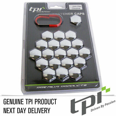 Tpi 20 Chrome Brillant Écrou de Roue en Alliage / Capuchons Boulon BMW 17mm