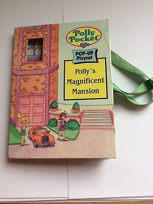 Vintage Polly Pocket Pollys Magnificent Mansion Book