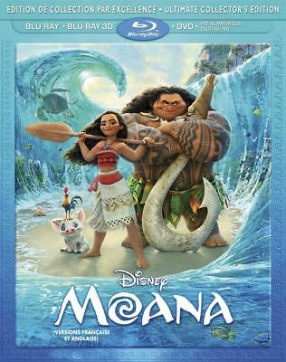 Moana (Bilingual) [3D Blu-ray + + DVD + Digital HD]