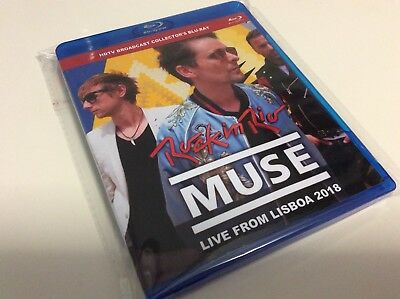 Muse Live From Lisboa 2018 Bluray Rock In Rio