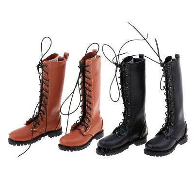 2pair 1:6 Scale Male Boots Man Shoes for 12'' Hot Toys/Phicen/Kumik/CY Girls