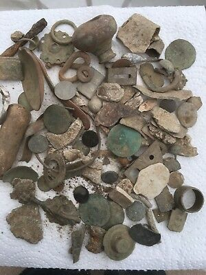 Ancient/GROUP OF INTERESTING  METAL DETECTOR FINDS FROM Norfolk Field No C1