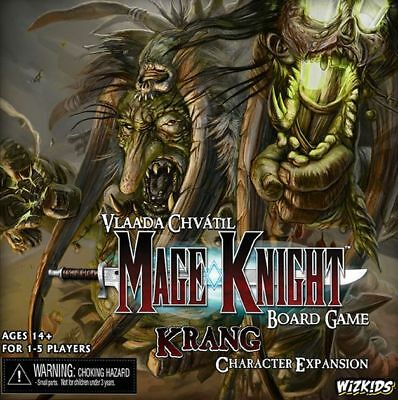 Mage Knight Board Game Krang Character Expansion. Brand New Sealed. English Vers