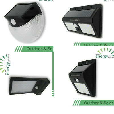 20/40 LED Outdoor LED Solar Powered Light Motion Sensor Security Wall Lights