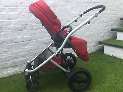 Britax Affinity Travel System Red