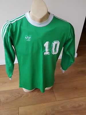 Adidas Vintage Shirt Trikot Jersey West Germany LS Retro Football Handball