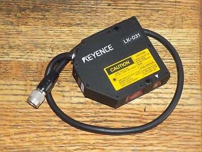 KEYENCE LK-031 LASER DISPLACEMENT SENSOR 4-20MA 400MA MAX 40V  Unused