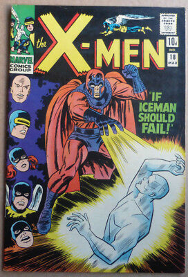 X-Men #18, Marvel Silver Age With Stan Lee Storyline, 1966, Fn!!