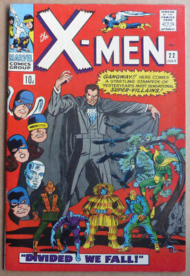 X-Men #22, A Classic Silver Age Marvel, 1966, Fn-