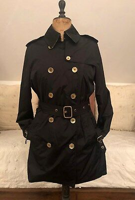 7bf8fb13f94 AUTHENTIQUE TRENCH COAT Impermeable Burberry London Femme Uk12   T40 ...