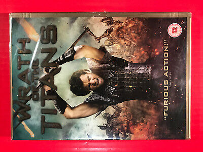 Wrath of the Titans NEW UK Golden Case Ed DVD 2012film clash sequel5051892074858