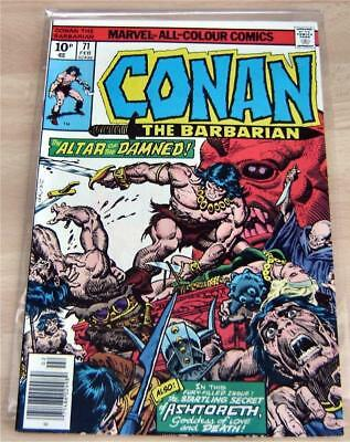 Conan # 71 - Feb. 1977 - Roy Thomas Script, John Buscema & Ernie Chan Artwork -