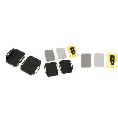 Camera Mounts Flat Curved with Adhesives Kit for Sony Action Cam VCT-AM1