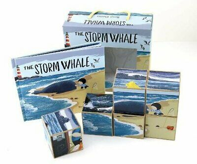 Storm Whale Book and Puzzle by Davies, Benji Book The Cheap Fast Free Post