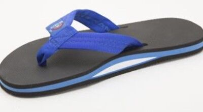 Rainbow Men Classic Flip Flop Sandal 301AR Rubber Single Layer 301AR Black Gray