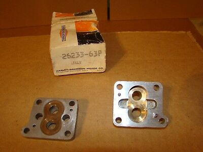Harley Sprint Oil Pump Body & Cover OEM NOS 26233-63P SS SX C H 1964-72