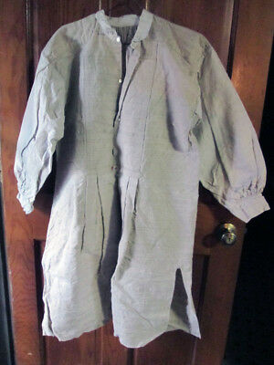 Antique French Hemp Work Shirt Peasant Wear