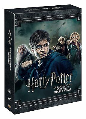 HARRY POTTER COLLECTION (8 DVD) NUOVO, ITALIANO - spedizione in 24H