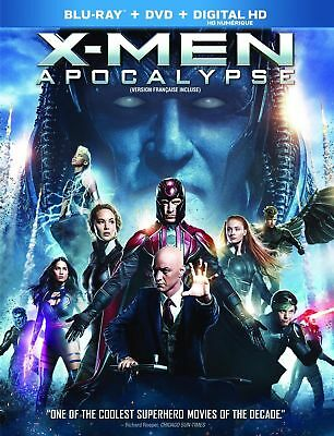 X-men Apocalypse (Bilingual) [Blu-ray + DVD+ Digital Copy] (New Sealed)