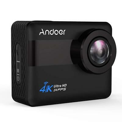 Action Camera, Andoer 4K WiFi 2.31 inch Full HD LCD Touchscreen with 20MP...