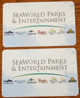 SeaWorld Busch Gardens 1 Day Tickets for Orlando, San Diego, San Antonio