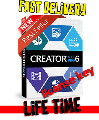 Corel Roxio Creator NXT 6 Pro 🔥 License Key 🔥 FAST DELIVERY 📨 full version ✅