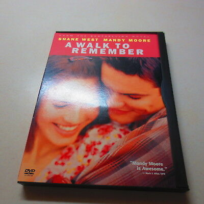 A Walk to Remember Shane West Mandy Moore DVD
