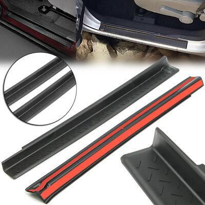 2pcs Door Sill Plate Entry Guard Protector For Jeep Wrangler JK 2007-16 Quality
