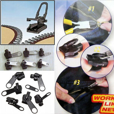 Slider As seen ON TV 6Pc Fix A Zipper Zip Rescue Instant Repair Kit Replacement