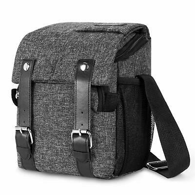 DSLR SLR Camera Shoulder Bag Waterproof Shockproof Messenger Bag­ for Women Men