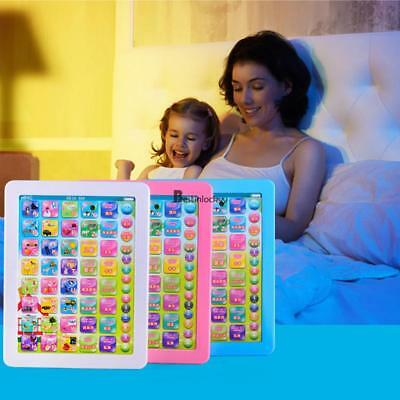 Children Touch Type Computer Tablet English Learning Study Machine Toy Nice Gift