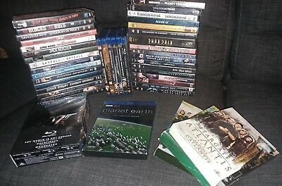 Lot Of Blu Ray Dvd Tv Seris - Great Titles 40 +/- in the lot View photos