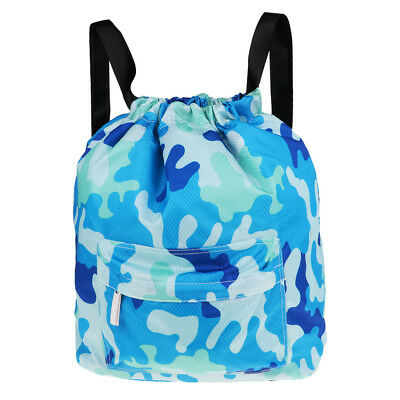 06eb767e588f Dry Wet Separated Swimming Bag Waterproof Drawstring Backpack Pool Beach Bag