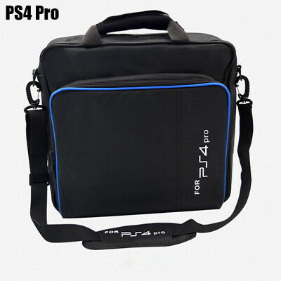For PS4 Console Case Travel Protective Padded Carry Bag Shoulder Strap