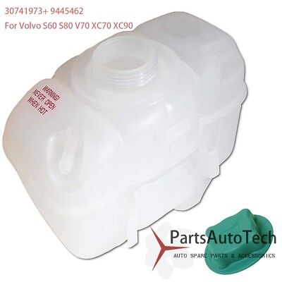 For C70 S70 V70 2.3 2.5 2.9 Recovery Expansion Overflow Tank Reservoir w//Cap NEW