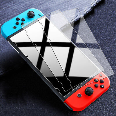[3 Pack] For Nintendo Switch Premium 9H Tempered Glass Screen Protector Guard US
