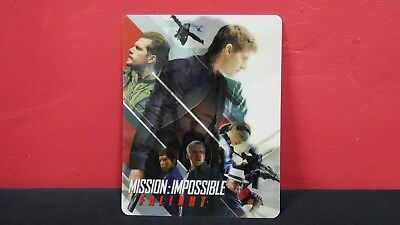 MISSION IMPOSSIBLE FALLOUT - 3D Lenticular Magnet Cover for BLURAY STEELBOOK