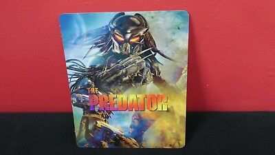 THE PREDATOR (2018) - 3D Lenticular Magnet / Magnetic Cover for BLURAY STEELBOOK