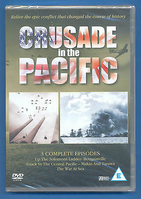 Crusade In The Pacific.up The Solomons Ladder Etc.dvd.new And Sealed