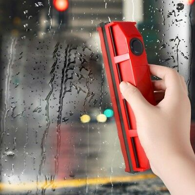 Magnetic Window Double Side Glass Wiper Cleaner Surface Cleaning Brush Tool US